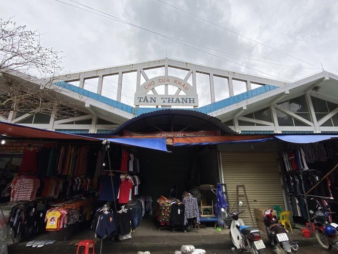 Một góc chợ cửa khẩu Tân Thanh Lạng Sơn